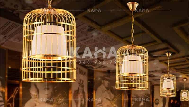 Đèn vải KAHA | Đèn lồng chim